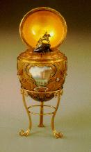 Decorated Egg-Peter the Great Faberge Egg