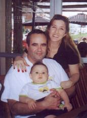 The Gonzalez family; Mary, artist and designer, creator of all handmade crafts and gifts in this site; Jose, husband, webmaster and active duty officer in the United States Air Force; and their now 2-year old son. Currently assigned at an overseas post at the U.S. Embassy in Uruguay, South America